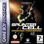 Carátula de Splinter Cell: Pandora Tomorrow para Game Boy Advance